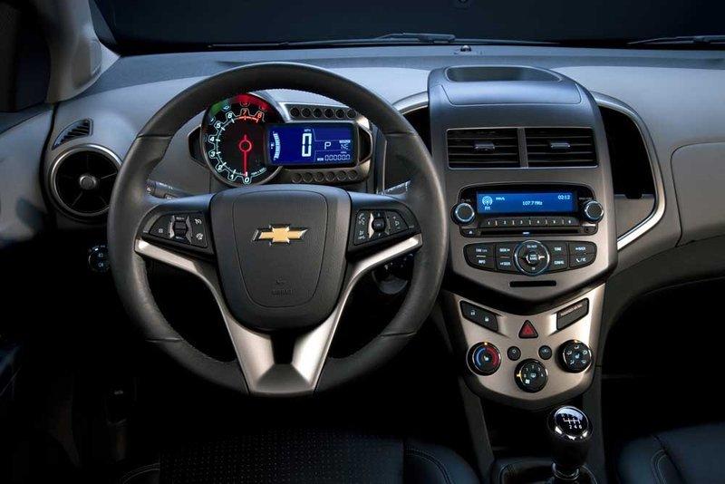 Chevrolet Aveo/Sonic five-door